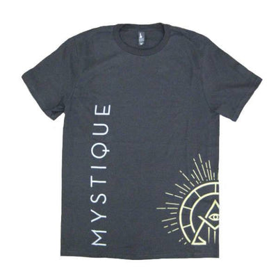 Mens T-shirts - Mystique - Label T-shirt - Black