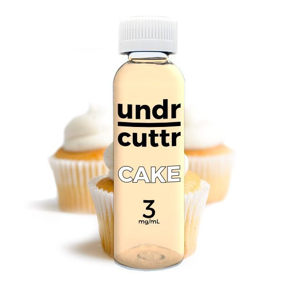Vape Juice - 60mL - Undr Cuttr - Cake