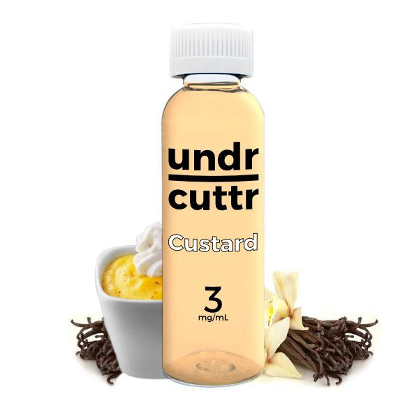Vape Juice - 60mL - Undr Cuttr - Custard