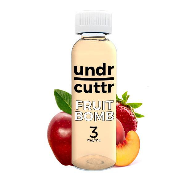 Vape Juice - 60mL - Undr Cuttr - Fruit Bomb