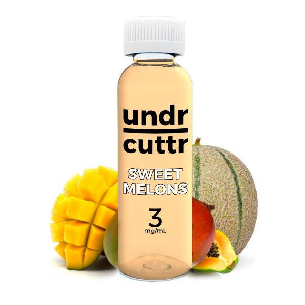 Vape Juice - 60mL - Undr Cuttr - Sweet Melons