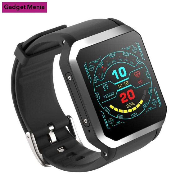 Android Smart Watch With Bluetooth And IP68 Waterproof 2019 | Gadget Menia