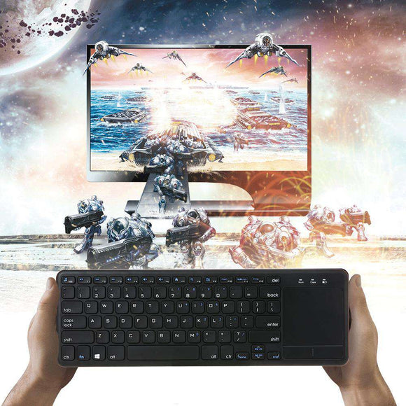 Buy 2.4G Wireless Keyboard Wireless Multi-touch Touchpad 2019 | Gadget Menia