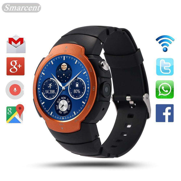 Smart Watch With 3G WiFi Android 5.1 And Quad Core Processor 2019 | Gadget Menia
