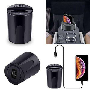Buy 10W Car Wireless Charger Cup with USB Output 2019 | Gadget Menia