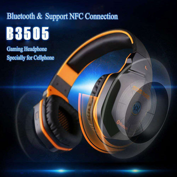 Buy Gaming Wireless Headphones Bluetooth 4.1 Stereo Music With Mic | Gadget Menia