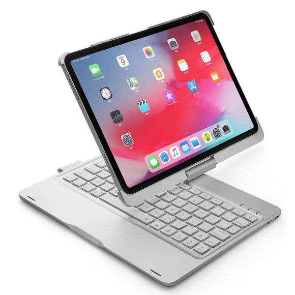 Buy Smart Wireless Keyboard Tablet Case 360 Rotation 2019 | Gadget Menia