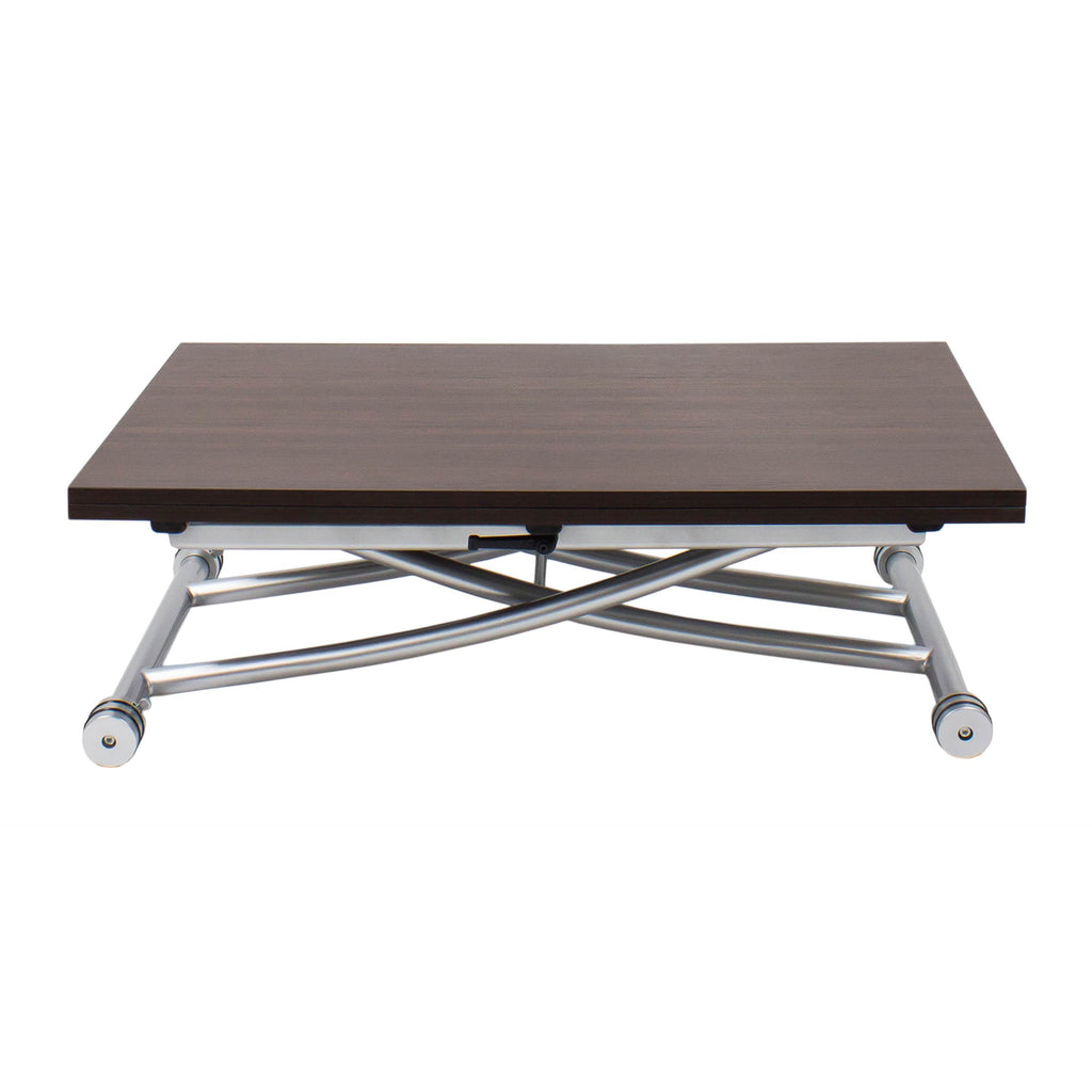 Spacemaster Transforming X Coffee And Dining Table 2 0 Walnut Spacemaster