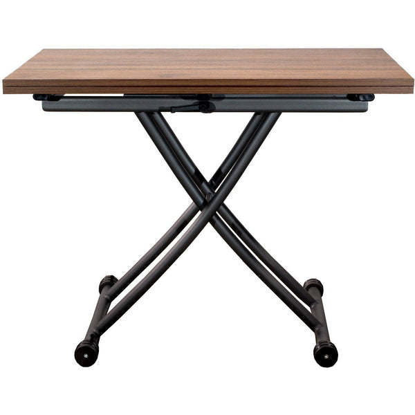 SpaceMaster Transforming X Coffee and Dining Table 2.0, Dark Oak