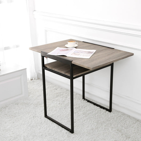 Small Space Desk and Dining Table in Black