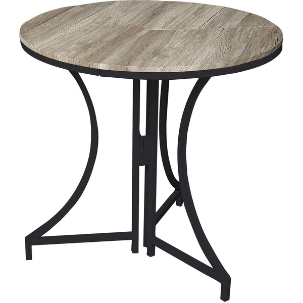 Folding Bistro Table in Black