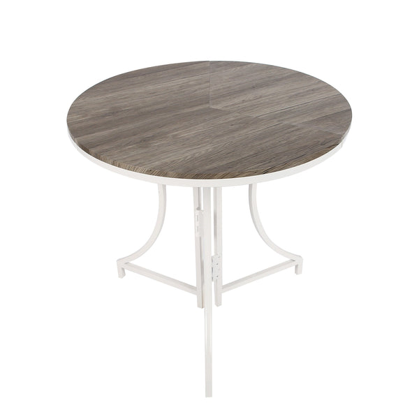 Folding Bistro Table in White