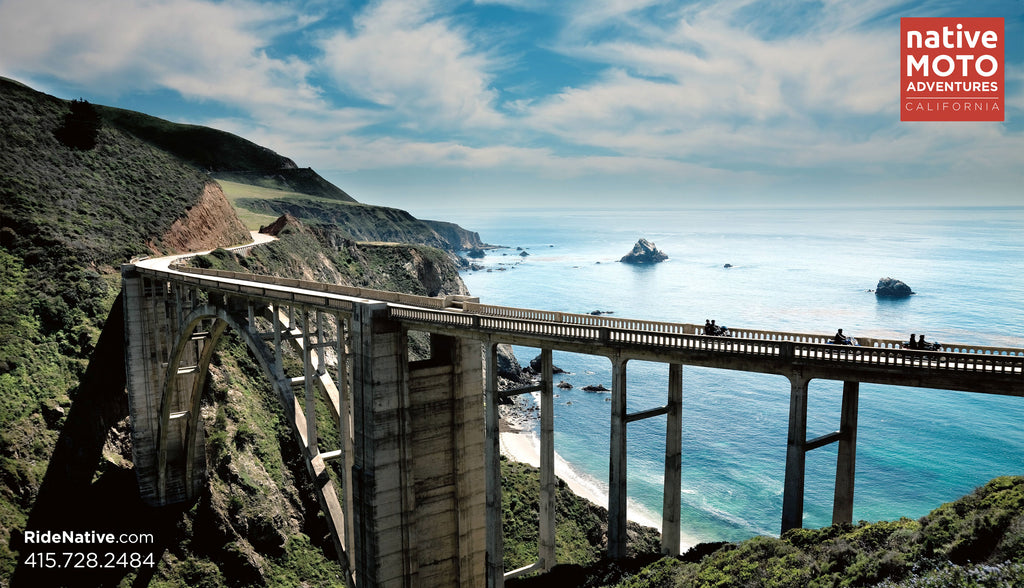 california highway 1 guided motorcycle tour usa carmel BDR backcountry discovery routes