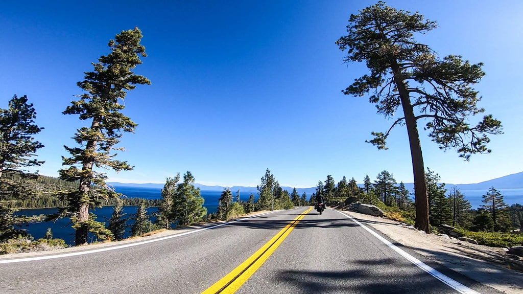 lake tahoe motorcycle tour ride emerald africa twin