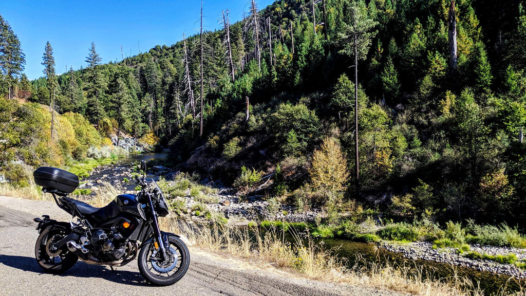 native motorcycle tour california tahoe yamaha MT09