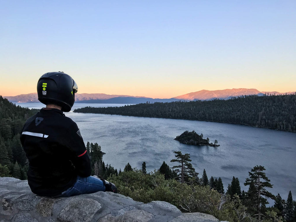 lake tahoe motorcycle tour emerald rev'it adventure