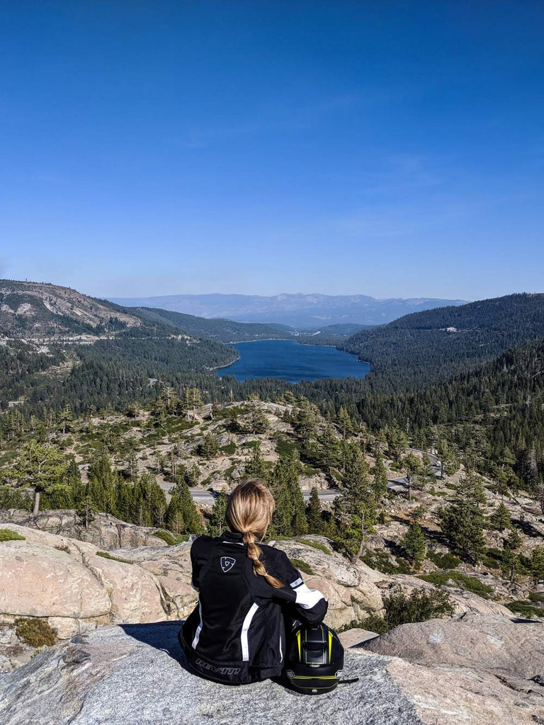 lake donner motorcycle rev'it adventure shoei tahoe