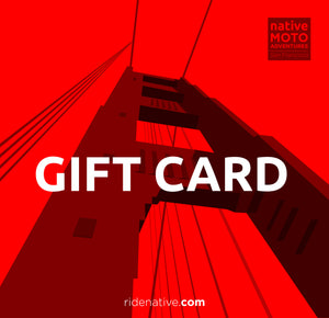 'Ride Anytime' GIFT CARD