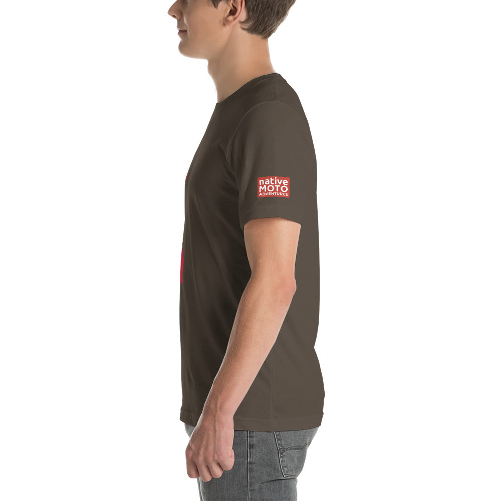 'Ride California' short-sleeve unisex T-shirt - Native Moto Adventures
