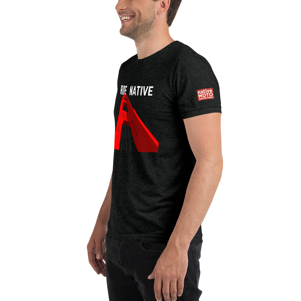Golden Gate Bridge 'Ride Native' Short sleeve t-shirt