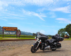 napa wine valley sonoma motorcycle tour san francisco california