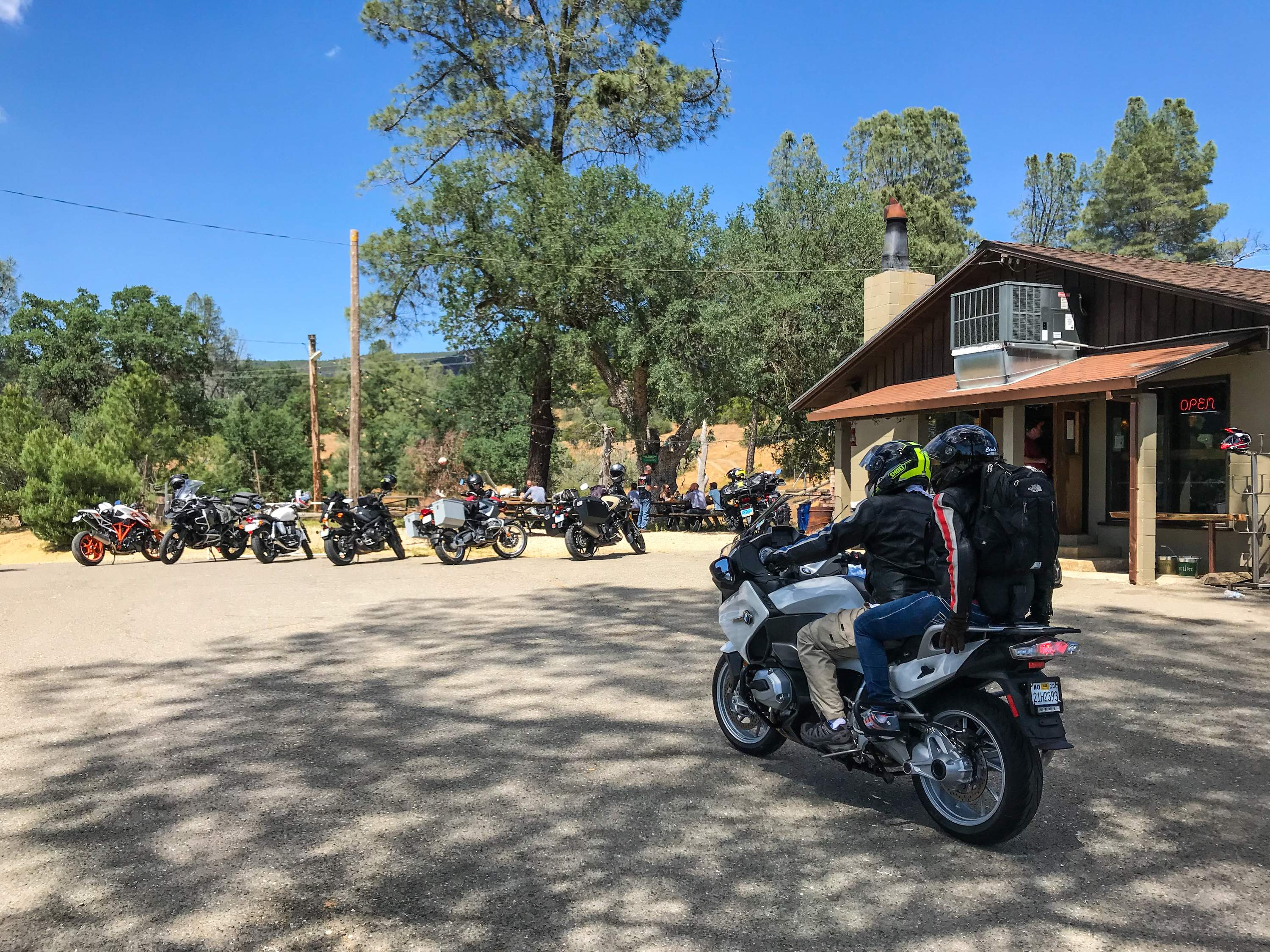 san francisco motorcycle tour mines road mt hamilton bmw gs wild west