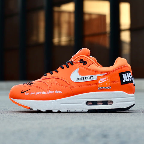 "0fe97836dbc The Nike ""Just Do It"" collection will include two pairs of the legendary Air  Max 1 exclusively for women. Coming in tonal orange and white colourways"