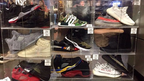 Why buying rare sneakers are best experienced in-store