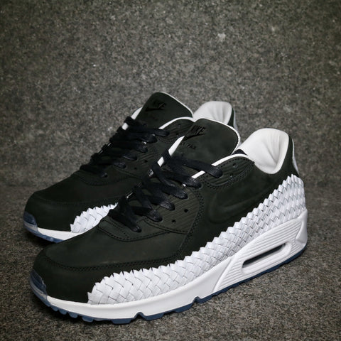 Air Max 90 Premium Woven Black White