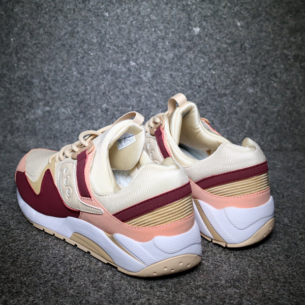 Grid 9000 Cream Red Pink