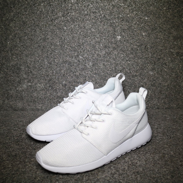 Women's Roshe One Triple White
