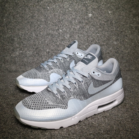Air Max 1 Ultra Flyknit Wolf Grey White