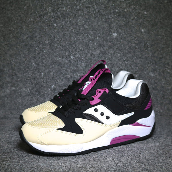 Grid 9000 Black Cream Purple White