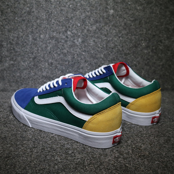 Old Skool Vans Yacht Club Blue Green