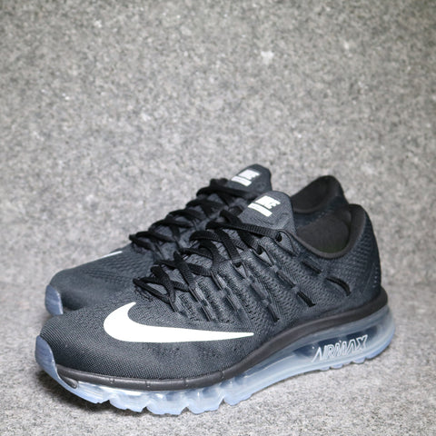 Women's Air Max 2016 Black White Silver