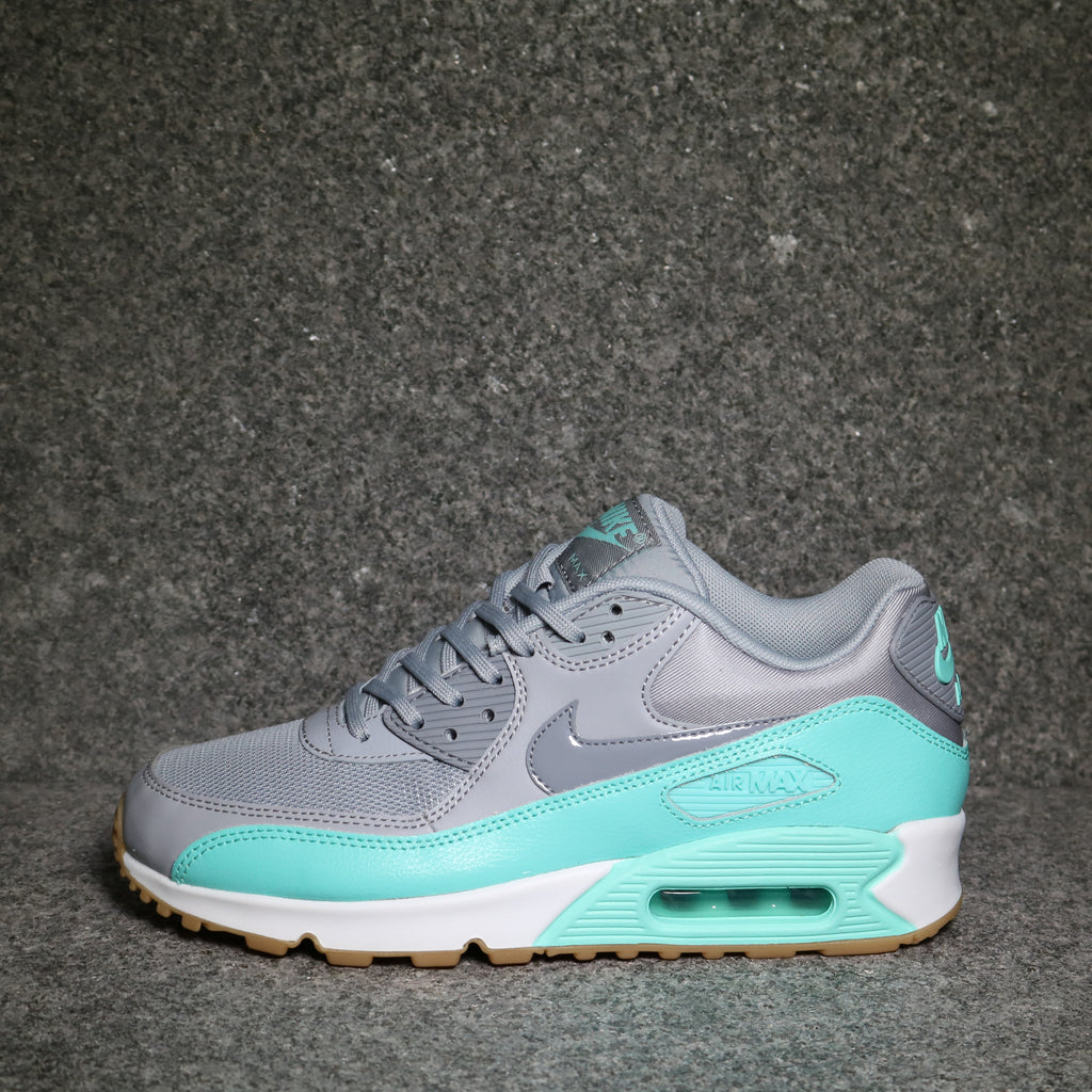 Nike Women's Air Max 90: Wolf GreyStealth Hyper Turquoise
