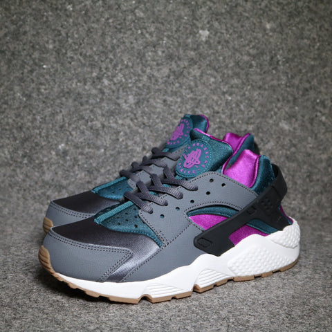 Women's Air Huarache Run Dark Grey Teal