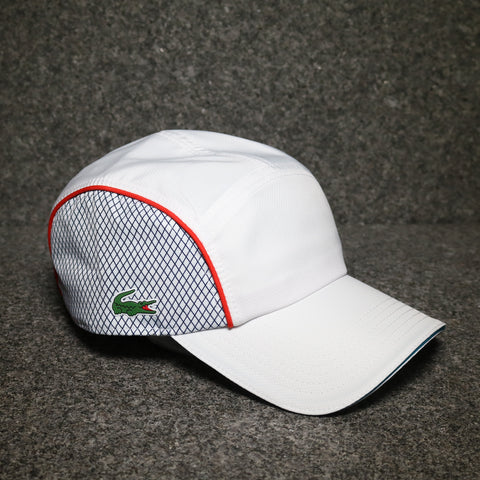 Lacoste Dry Fit Training Cap White