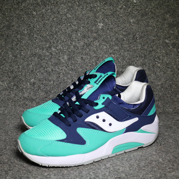 Grid 9000 Navy Green White