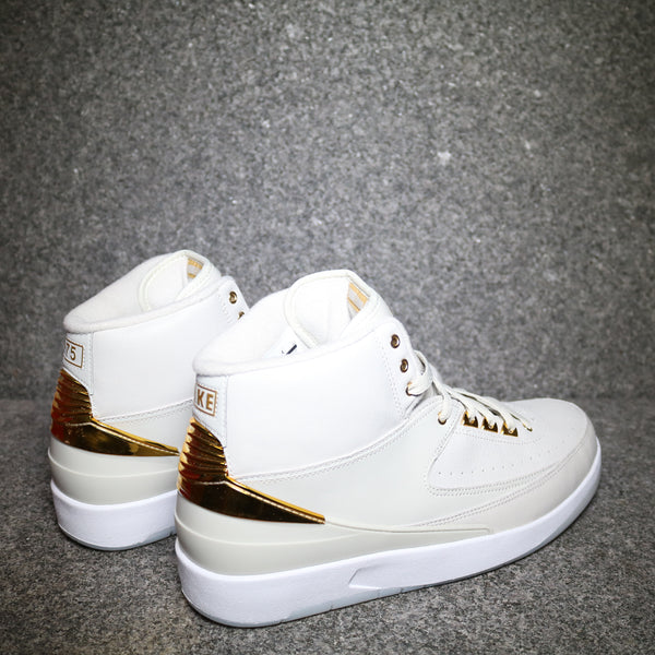 Back view of the Quai 54 Air Jordan 2 at Solemate Sneakers Sydney
