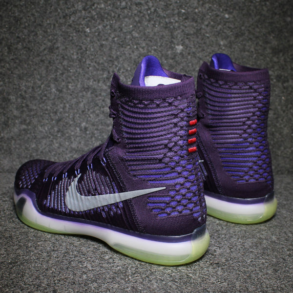 Kobe 10 Elite 'High Team Pack' Ink Persian Violet Reflect Silver