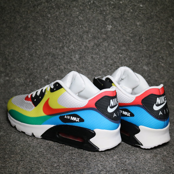 "Air Max 90 Hyperfuse ""What The?"" White Sport Red Soar"