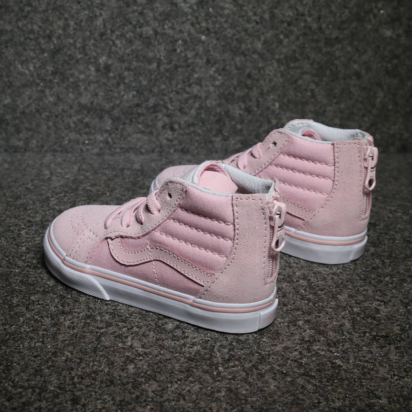 Sk8 Hi Zip Chalk Pink True White