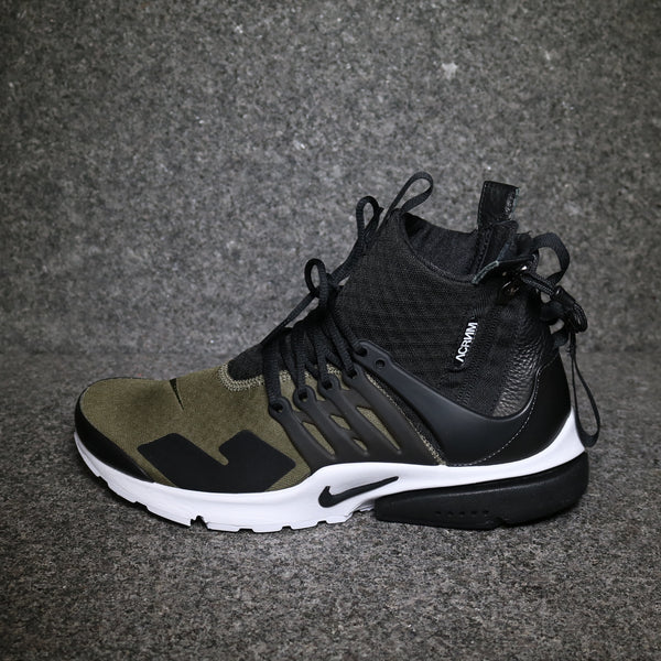 "Air Presto Mid ""Acronym"" Med Olive Black Dust"