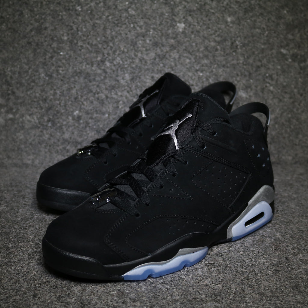 Off centre Air Jordan 6 Low Retro Chrome 304401 003