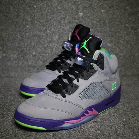Air Jordan 5 Retro 'Bel Air' Cool Grey Club Pink Court Purple Game Royal