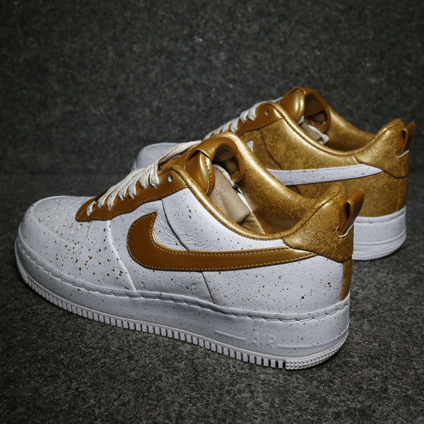 Air Force 1 Low Supreme Homecoming White Metallic Gold