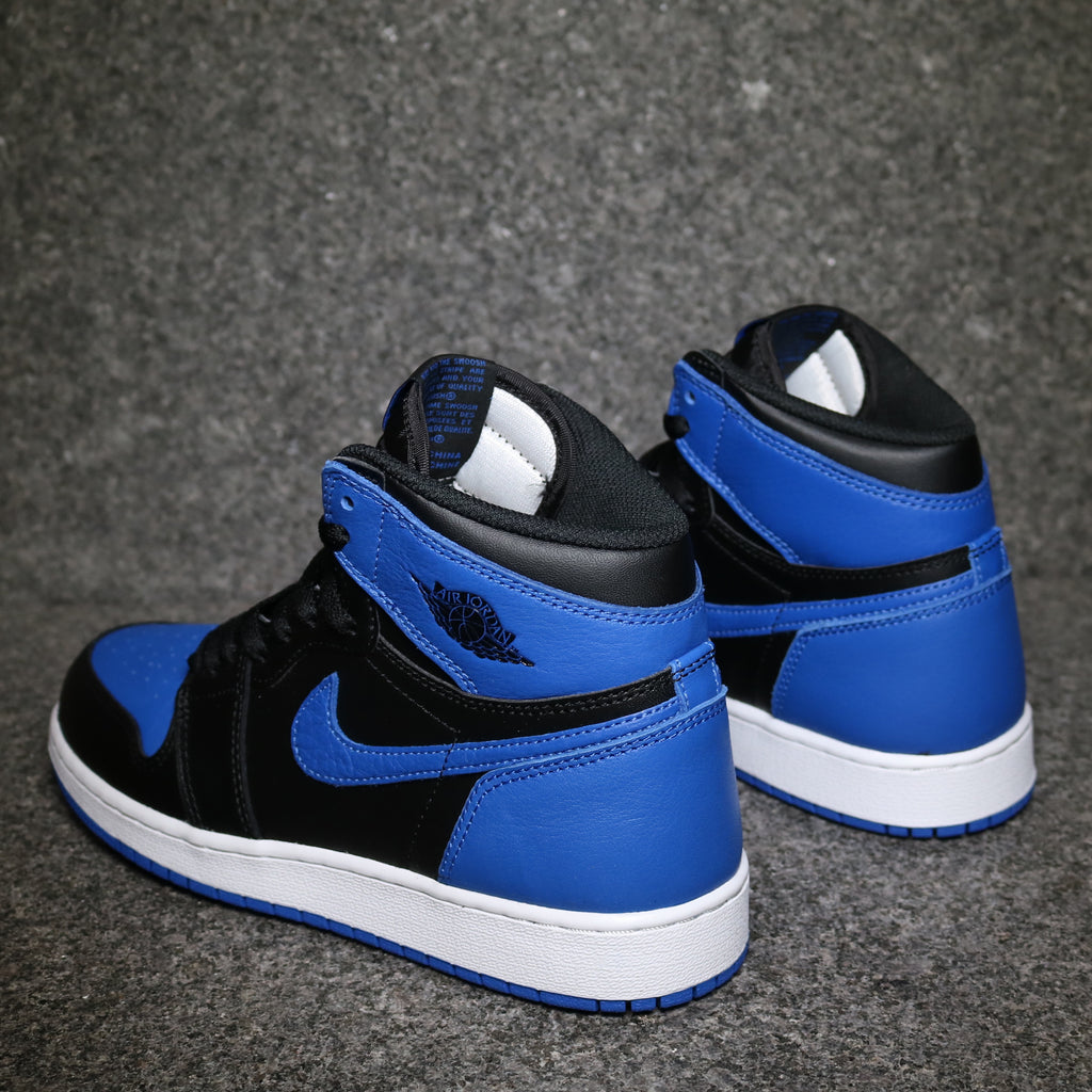 air jordan 1 royal bleu; air jordan 1 retro royal blue gs black royal white