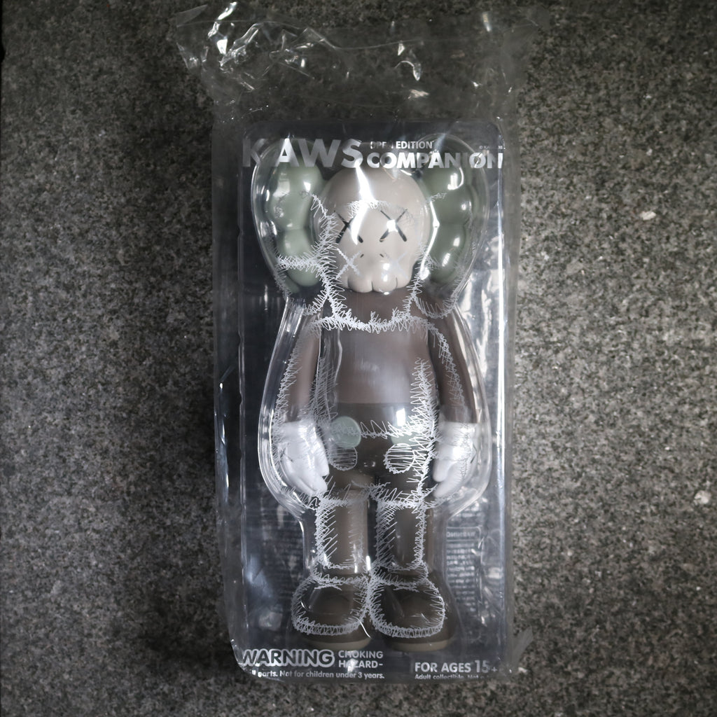 Front Kaws Companion Open Edition Grey