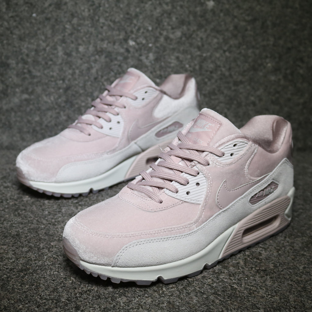 hot sale online 5c960 7c22f Women's Air Max 90 Deluxe Particle Rose Grey White